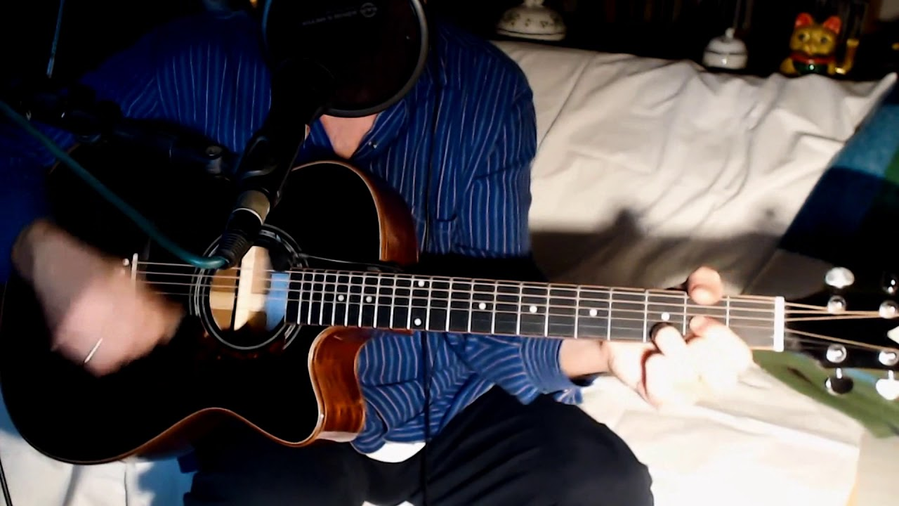 Island in the Sun ~ Weezer ~ Cover w/ Harley Benton Custom Line CLC 650 SM CE Bk & Shaker