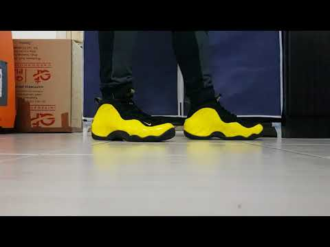the latest 746b4 fdfae Nike foamposite opti yellow a.k.a wutang on feet review 2