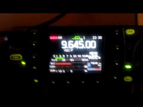 Radio Bandeirantes, Sao Paulo Brazil on ICOM 7000