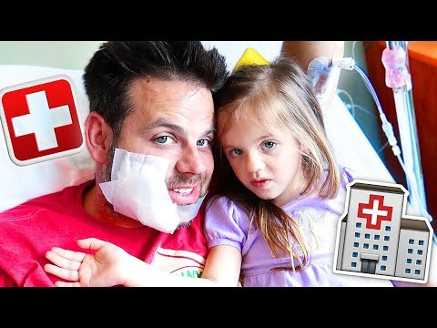 Visiting Daddy in the Hospital