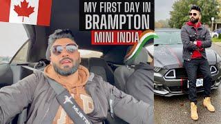 My First Day in Brampton Canada | Mustang | Gurduwara | Amazon