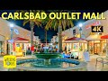 Carlsbad Premium Outlet Mall | San Diego Travel  | 4K Walking Tour