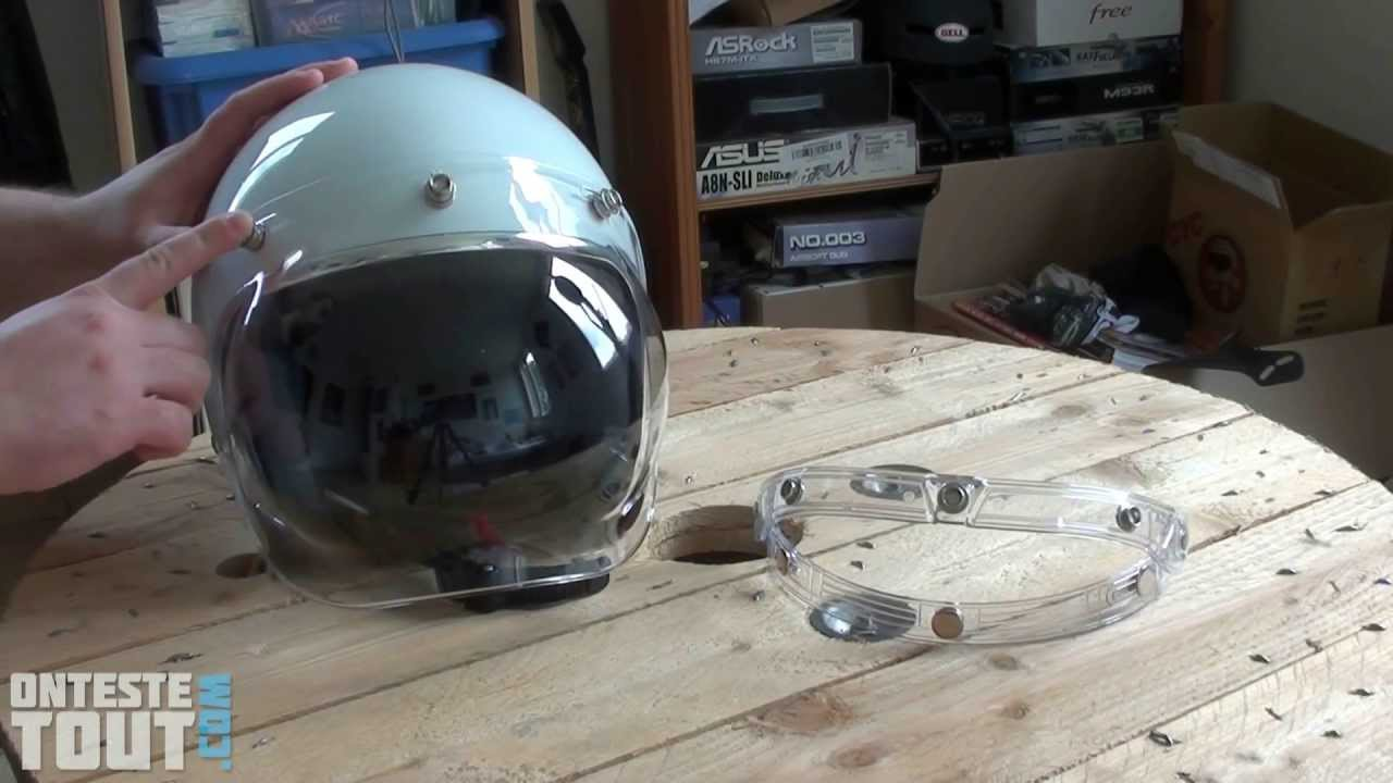 Lunaris2142 Teste Le Bubble Shield Visor Youtube