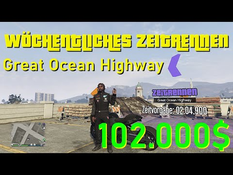 GTA 5 ONLINE ZEITRENNEN - GREAT OCEAN HIGHWAY | +102.000$ | Abkürzungen, Tipps & Tricks