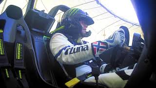 On board with Petter Solberg