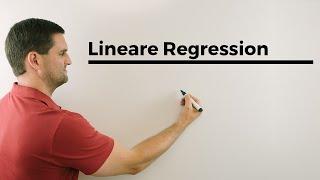 Lineare Regression, Sxx, Sxy, Syy, Berechnung, Alternative | Mathe by Daniel Jung