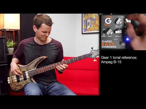 Genzler Amplification - 4 On The Floor - Classic Bass Overdrive Pedal - Nate Navarro Demo