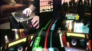 "DJ Hero - Expert - Eminem/Beck ""My Name Is"" vs. ""Loser"" 100% (2nd Place on XBL)"