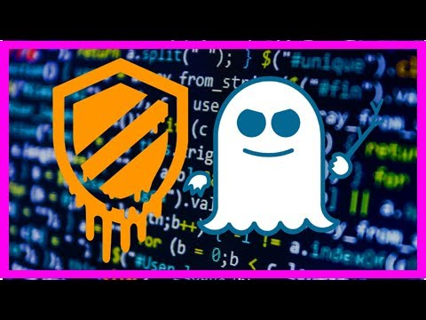 Meltdown and spectre computer bugs