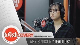 "Aby Singson performs ""Jealous"" LIVE on Wish 107.5 Bus"