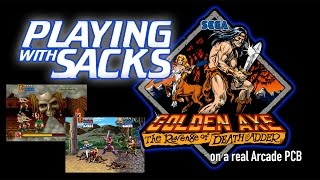 Golden Axe: The Revenge of Death Adder - Arcade - PlayingWithSacks
