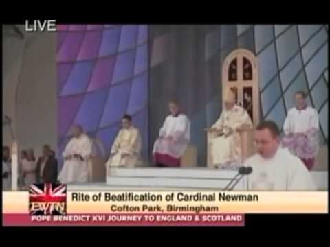Cardinal Newman Beatification on Sept. 19, 2010