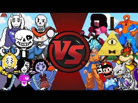 WHY DOES UNDERTALE ALWAYS WIN!?! (Undertale vs Gravity Falls, Steven Universe, Mario, & More) Bendy?