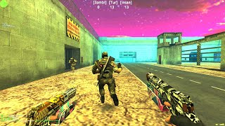 Counter-Strike: Zombie Escape Mod - ze_AREA51_Remake_dp on Dark Professional