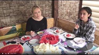 ВЛОГ ДИЗАЙН ДВОРА + КФС + РЕСТОРАН СВОЯ КОМПАНИЯ + КУШАЕМ АРБУЗ
