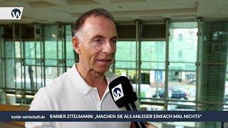 """Rainer Zitelmann: """"Machen Sie als Anleger einfach mal nichts"""""""