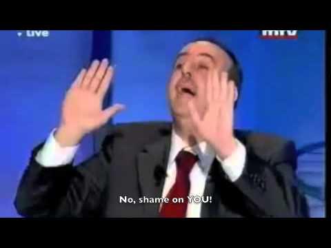 Lebanese Politicians Fight on Live TV [ENGLISH SUBTITLES]
