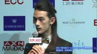 モデルの栗原類さんと映画コメンテーターのLiLiCoさんが1月15日、東京都...