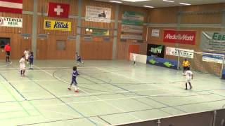 TuS Traunreut U12 Hallenmasters 2015 Spiel 25: FC Chelsea London-Austria Wien 1:3