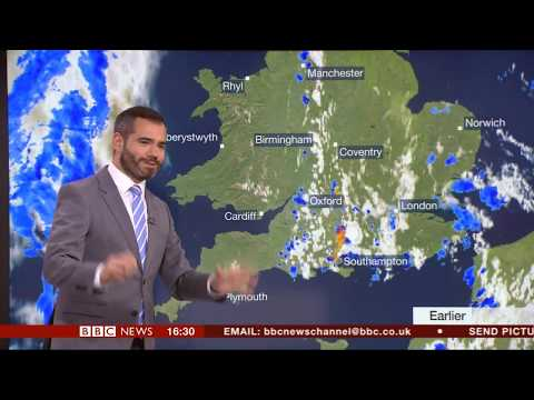 A 'Lightning Lesson' In BBC Weather Graphics