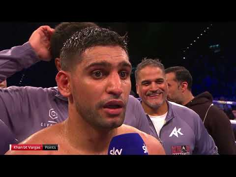 POST FIGHT: Amir Khan discusses whether he will fight Kell Brook or Manny Pacquiao next