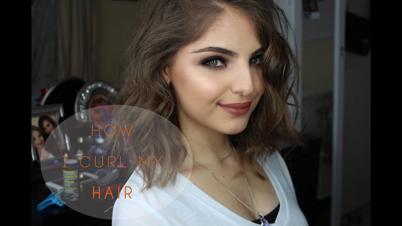 How To Curl Short Hair ™� Youtube