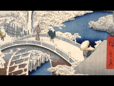 "PSA for ""Hiroshige's City: From Edo to Tokyo"" at the Honolulu Museum of Art"