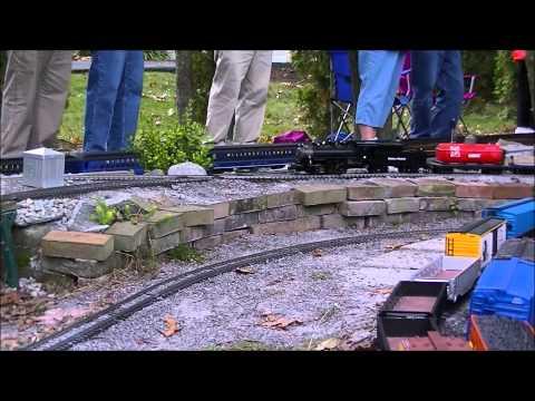 2014 Pennsylvania Garden Railway Tour Highlights Reel