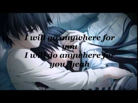 Nightcore - Anywhere For You (With lyrics)