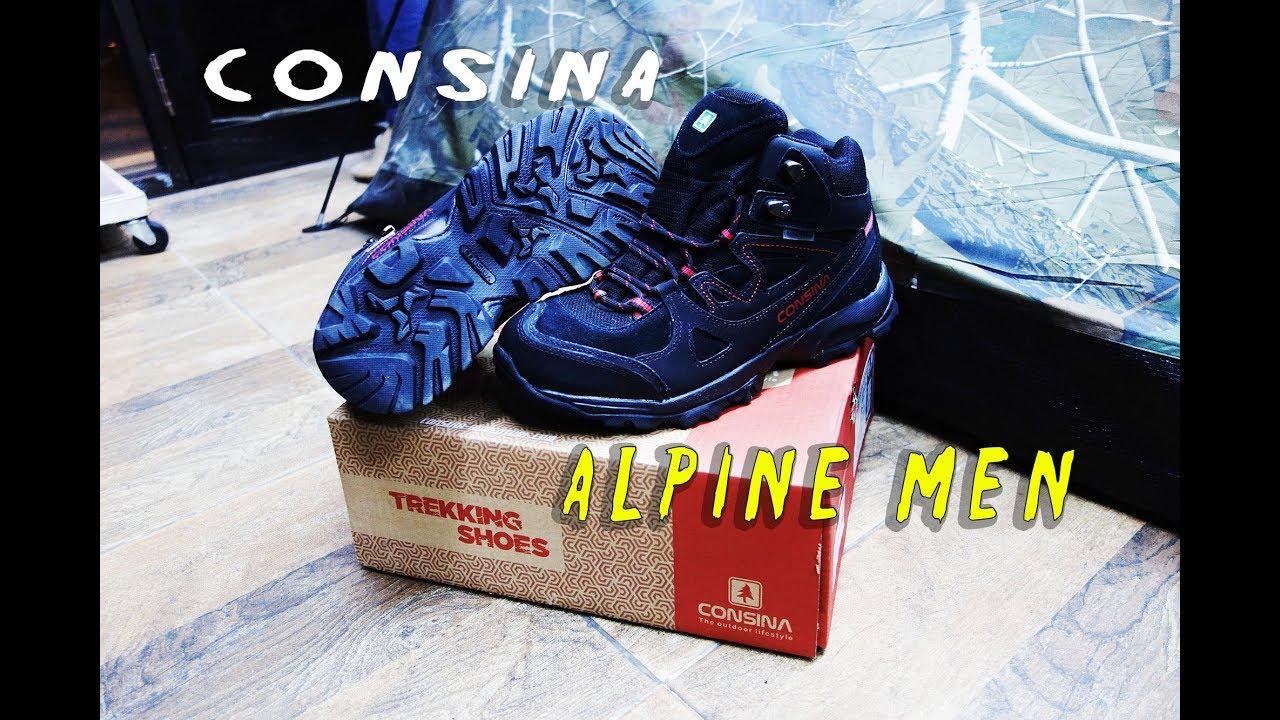 Hiking Shoes Consina Alpine Sepatu Gunung