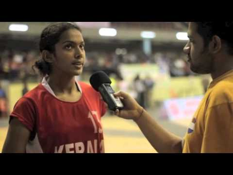 Future stars of the Indian women's basketball team - Jeena PS, Poonam Chaturvedi & Sagarika Shyam