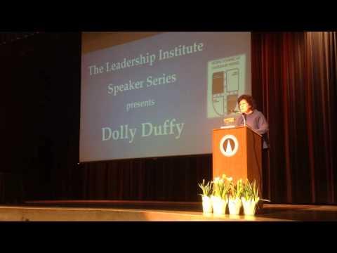 Leadership Institute Speaker Series: Dolly Duffy