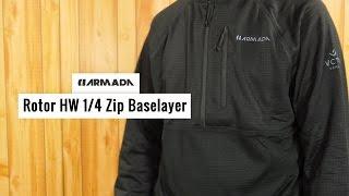 Armada Rotor HW Men's 1/4 Zip Baselayer