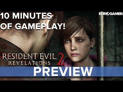 Resident Evil: Revelations 2 - 10 minutes of gameplay! - Eurogamer Preview