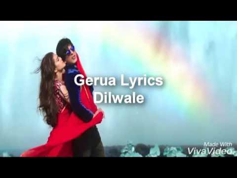Gerua karaoke with female vocal