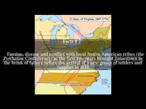 Colony of Virginia Top # 13 Facts