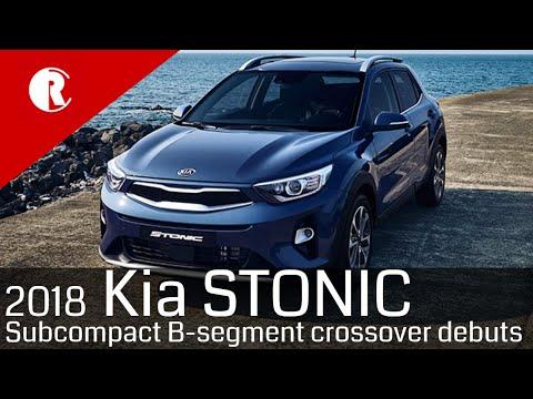New Kia Stonic Subcompact SUV