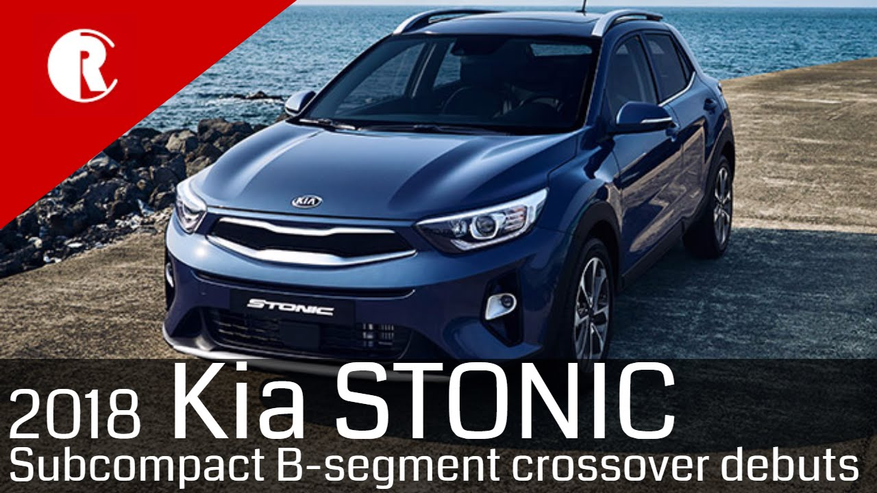 new kia stonic subcompact suv youtube. Black Bedroom Furniture Sets. Home Design Ideas
