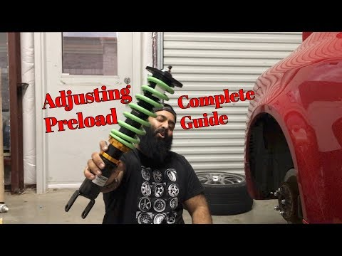 How To Adjust Preload on Coilovers