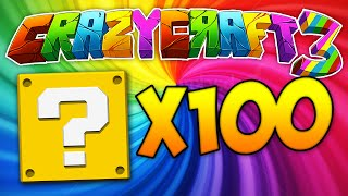"Minecraft Crazy Craft 3.0 (Ep 23) - ""x100 LUCKY BLOCKS!"" w/ Ali-A"