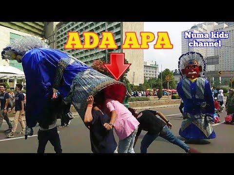 JOGET ENAK BANGET   Ondel-ondel Permata Aulia   Cfd jl Sudirman-Thamrin Jakarta