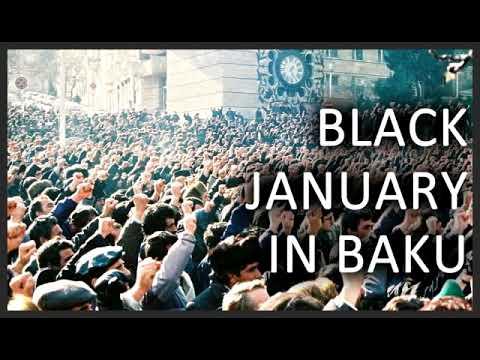 Film About Black January In Baku, Azerbaijan, 20 January 1990