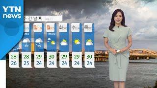 [날씨] 전국 대부분 지역에 폭염주의보...내륙 곳곳에 강한 소나기 / YTN