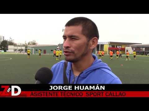 Sport Callao: Jorge Huamán