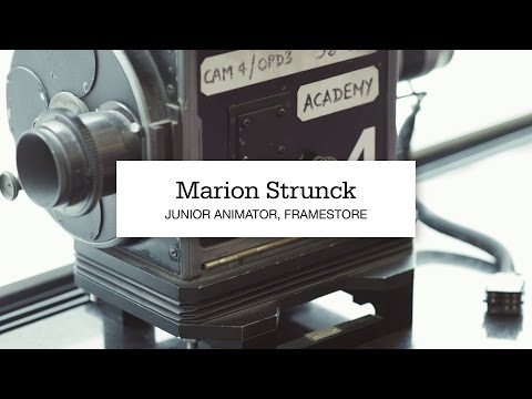 Marion Strunck, Junior Animator at Framestore