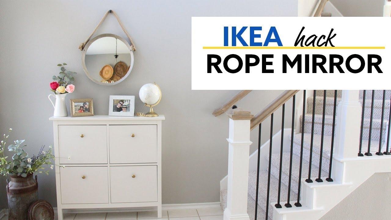 Ikea Hack Rope Mirror Hometalk