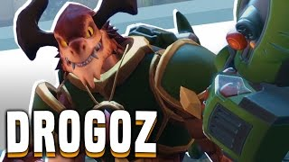 Drogoz The Greedy! More Competitive! - Paladins Drogoz Gameplay