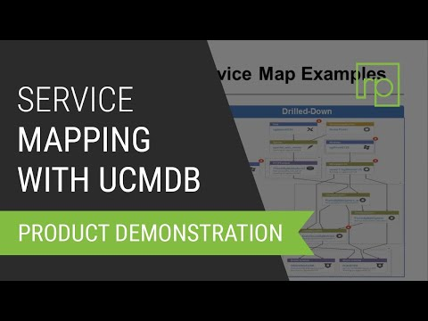 Service Mapping with Universal CMDB Browser