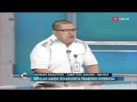 Penjelasan TKN Jokowi-Ma'ruf Soal Efek dari Manuver Amien Rais - iNews Pagi 09/10