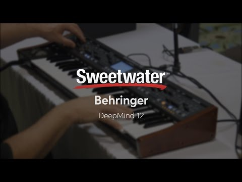 Knobcon 2016: Behringer DeepMind 12 with Daniel Fisher Mp3